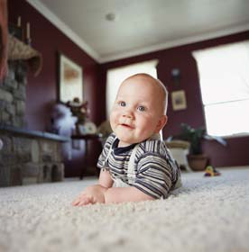 Baby On a Carpet