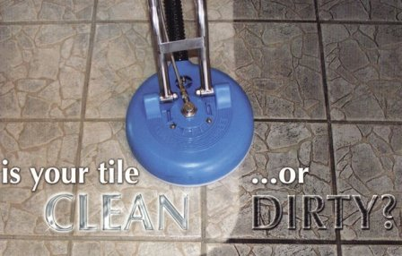 Cleaning of Tile and Grout